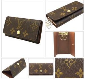 separation shoes 2a011 880ab ルイヴィトン Louis Vuitton 4連キーケース ミュルティクレ4 ...