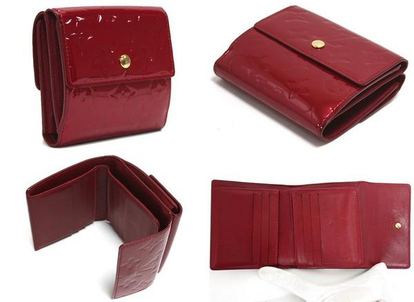 new product 12935 3f0f0 ルイヴィトン Louis Vuitton 三つ折り財布 ヴィエノワ スーパー ...